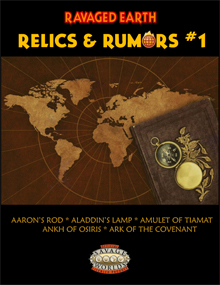 Relics & Rumors #1 Now Available